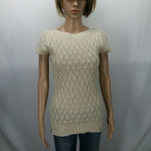 Maurices Womens Cream Sweater Size S